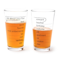 Talking Pints - Conversation Glassware