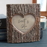 Romantic Couple Personalized Resin Tree Trunk..