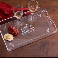 Personalized Hostess Serving Tray Gift - Four..