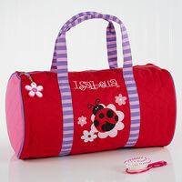 Personalized Girls Duffel Bags - Ladybug