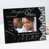 Personalized Wedding Picture Frames - Wedding Day
