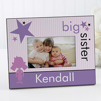 Brother & Sister Personalized Pictures Frames