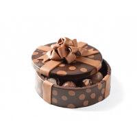 DeBrand Chocolates: Polka Dot Art Box..