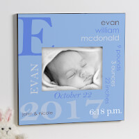Personalized 5x7 Picture Frame - Baby Boy