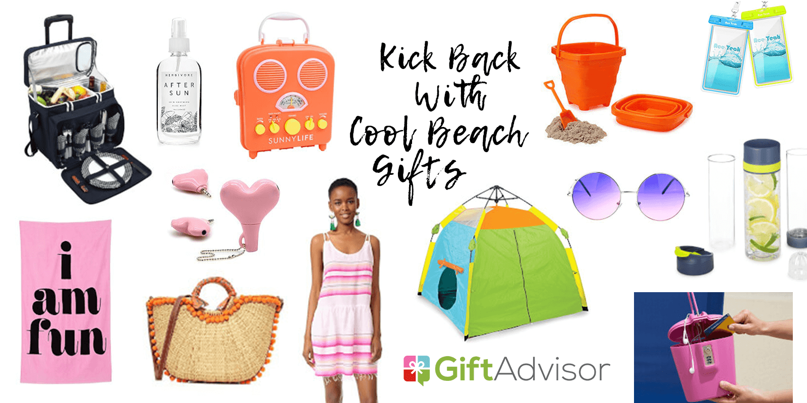 Kick Back With This Cool List Of Beach Gifts For Her