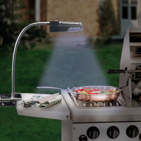 Flexible Solar Powered Stainless Steel Grill..