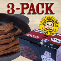 Bacon Is Meat Candy Bacon Sampler - 3 Different..