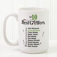 Large Golf Coffee Mugs - Top 10 Golfers