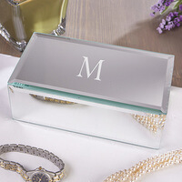 Personalized Mirrored Jewelry Boxes - Small