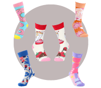 Wild & Crazy Sock Subscription For Her
