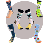 Daring And Bold Socks Subscription For Him