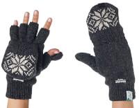 Fingerless Texting Gloves