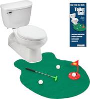 Toilet Putting Practice Green