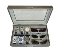 Watch And Sunglasses Case