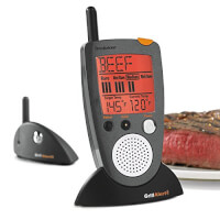 Brookstone Grill Remote Meat Thermometer