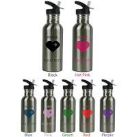Personalized Nurse Water Bottle