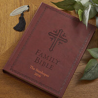 Personalized Family Bible - New King James
