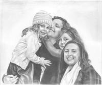 Hand Drawn Pencil Sketch From Photos