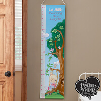 Personalized Girls Growth Chart - Precious Moments