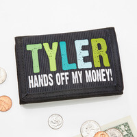 Personalized Kids Wallets - Hands Off