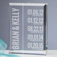 Personalized Paperweight Keepsake - Milestone..