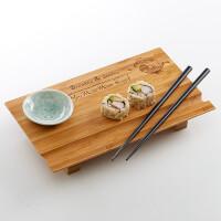 Personalized Sushi Board - Yin And Yang