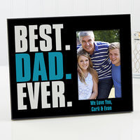 Personalized Fathers Day Picture Frame - Best..