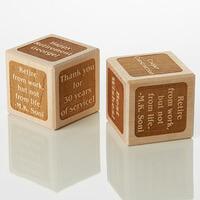 Personalized Wood Block - Retirement