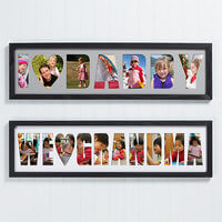 Personalized Name Photo Collage Frame - Loving..
