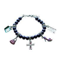 Shopper Mom Charm Bracelet In Silver