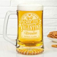 Personalized Beer Mug - Beer My Valentine