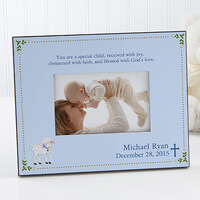 Christened With Faith Personalized 4x6 Tabletop..