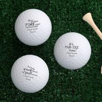 Personalized Golf Balls - Retirement Gift