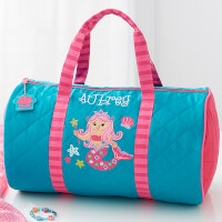 Personalized Kids Duffel Bag - Mermaid