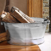 Hampton Personalized Stainless Steel Tub