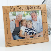 Personalized Grandparent Picture Frames - Sweet..
