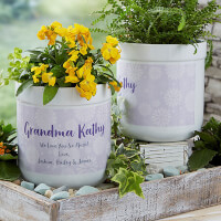 Personalized Flower Pots - Blooming Precious..
