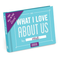 What I Love About Us Fill In The Love Journal