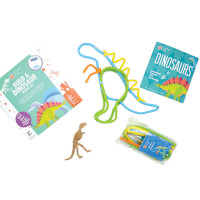 Surprise Ride - Build A Dinosaur Science Kit