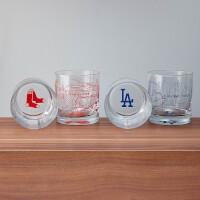 Baseball Park Map Glasses - Set Of 2