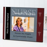 Personalized Nurse Picture Frames