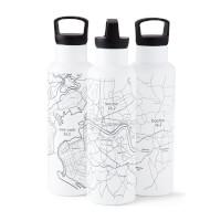 Marathon Map Hydration Bottles