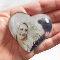 Romantic Photo Personalized Mini Heart Keepsake