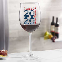 Graduating Class Of Personalized 19 1/4oz Red..