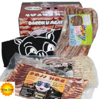 KING SIZE Bacon Is Meat Candy Bacon Of The Month..