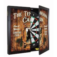 Personalized Dartboard & Cabinet Set