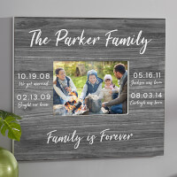 Memorable Dates Personalized Wall Frame -..