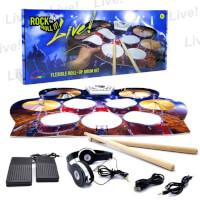 Flexible Portable Drum Set