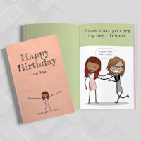 Personalized Happy Birthday Gift Book   LoveBook..