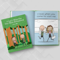 Personalized Long Distance Gift   LoveBook..